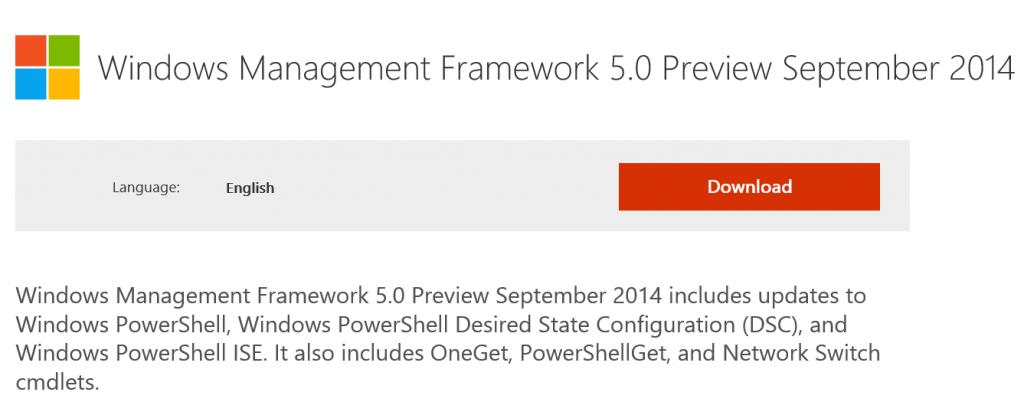 win framework5preview