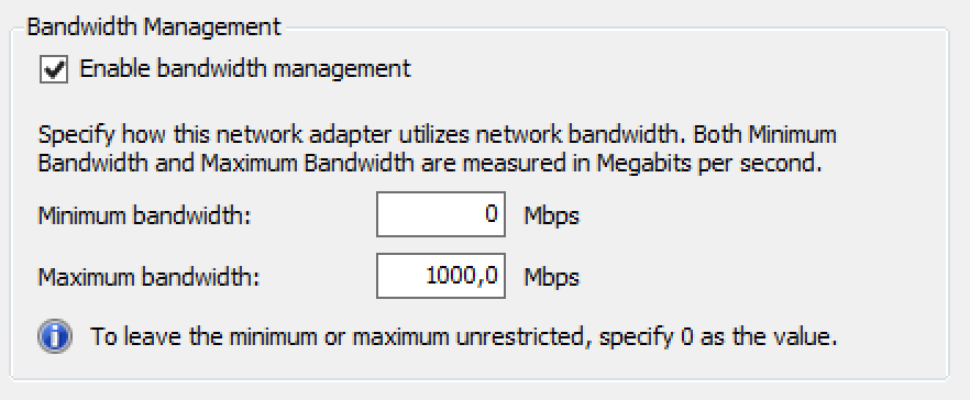 how to set your bandwidth priority
